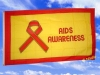 Fahnen Flaggen AIDS AWARENESS 150 x 90 cm
